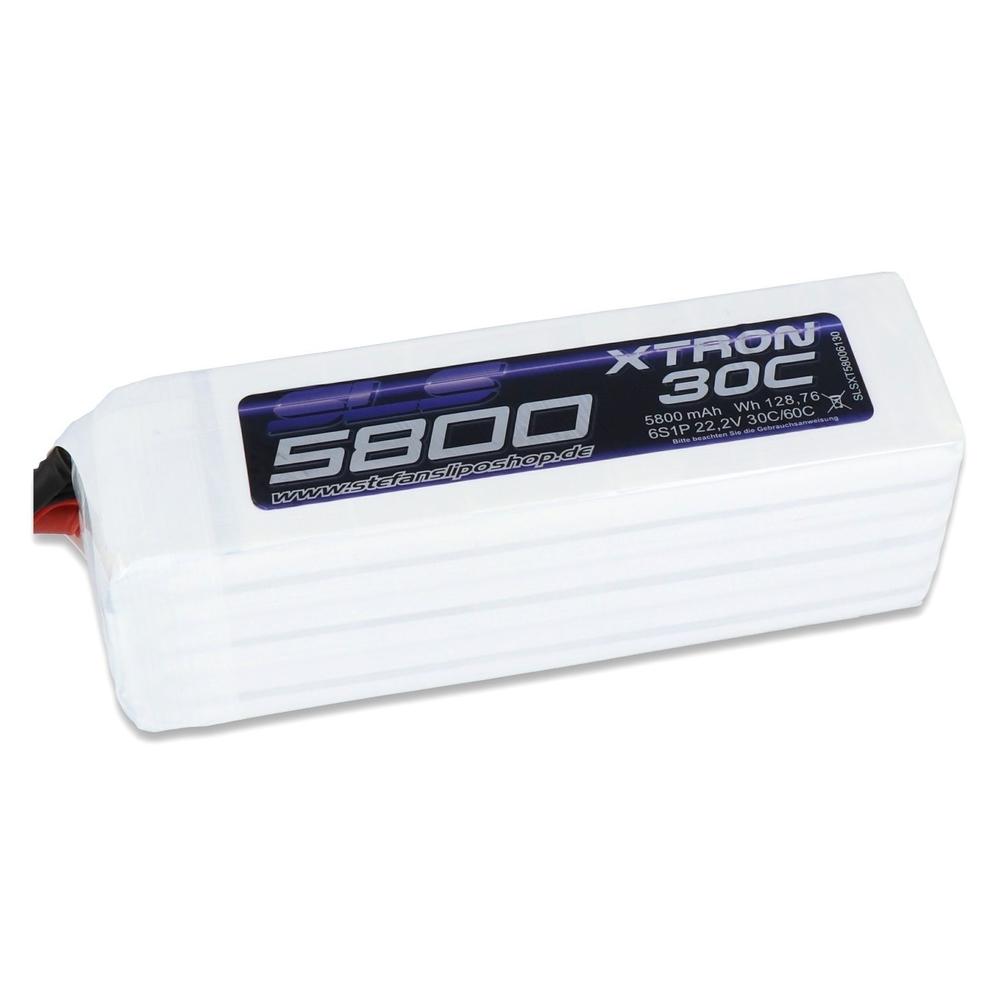 Akumulator SLS XTRON 5800mAh 6S1P 22,2V 30C60C Li-Po