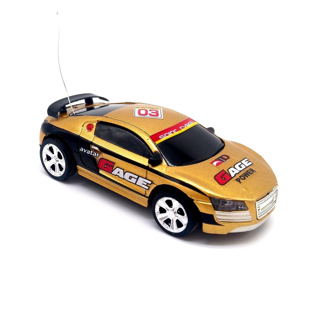 samochód_mikro_RC_MINI_CAR_158_złoty_40MHz_OLPEN_model